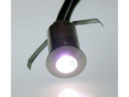 24vdc Mini (20mm) Single Colour LED Plinth and Floor Light (Waterproof IP67)