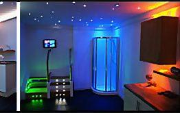 28mm Colour Changeable LED Plinth Light Waterproof IP67, 12vdc