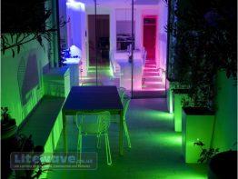 Colour Changeable (RGB) LED Spotlight, Waterproof IP67
